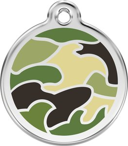 Red Dingo Camouflage green hondenpenning