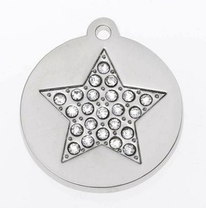 Sparkling Bling Silver Star small
